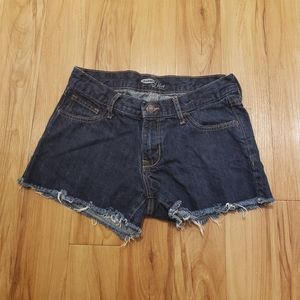 """The Diva"" Blue Jean Shorts"